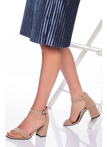 Derithy Ayakkabı Vizon